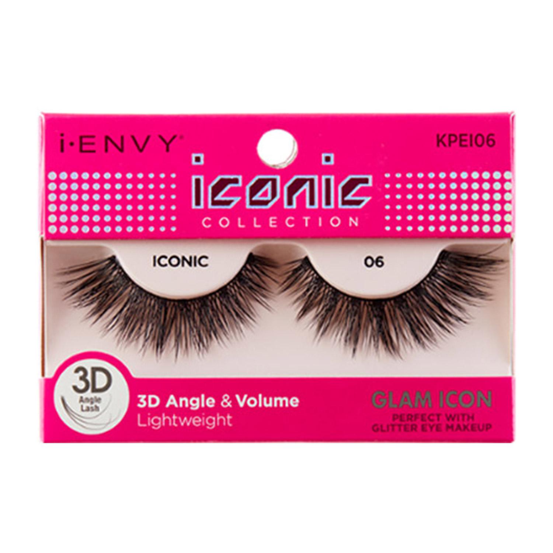 1c7a401c232 KISS i ENVY Iconic 3D Angle & Volume Lightweight Eyelashes - iKateHouse